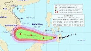 Tin Bão Mới Nhất: Tin cập nhật về cơn bão số 16 (Cơn bão Tembin)
