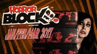 Jan/Feb/March 2017 Horror Block Unboxing & GIVEAWAY!