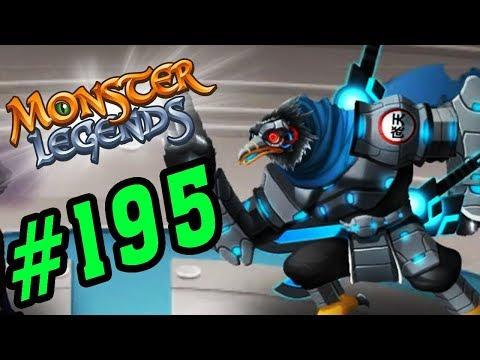 ✔️NINJA QUẠ NGƯỜI MÁY! - Monster Legends Game Mobiles - Quái Vật Android, Ios #195