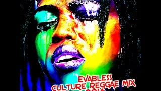 DJ KENNY EVABLESS CULTURE REGGAE MIX JAN 2016