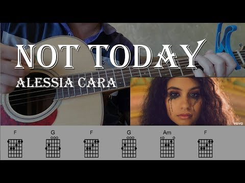 Alessia Cara | Not Today | Guitar Chords