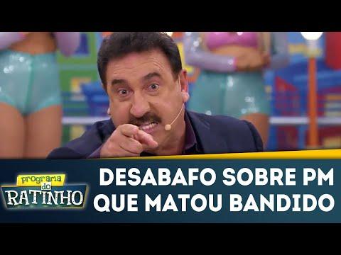 Ratinho Desabafa Sobre PM Que Matou Bandido | Programa Do Ratinho (14/05/18)