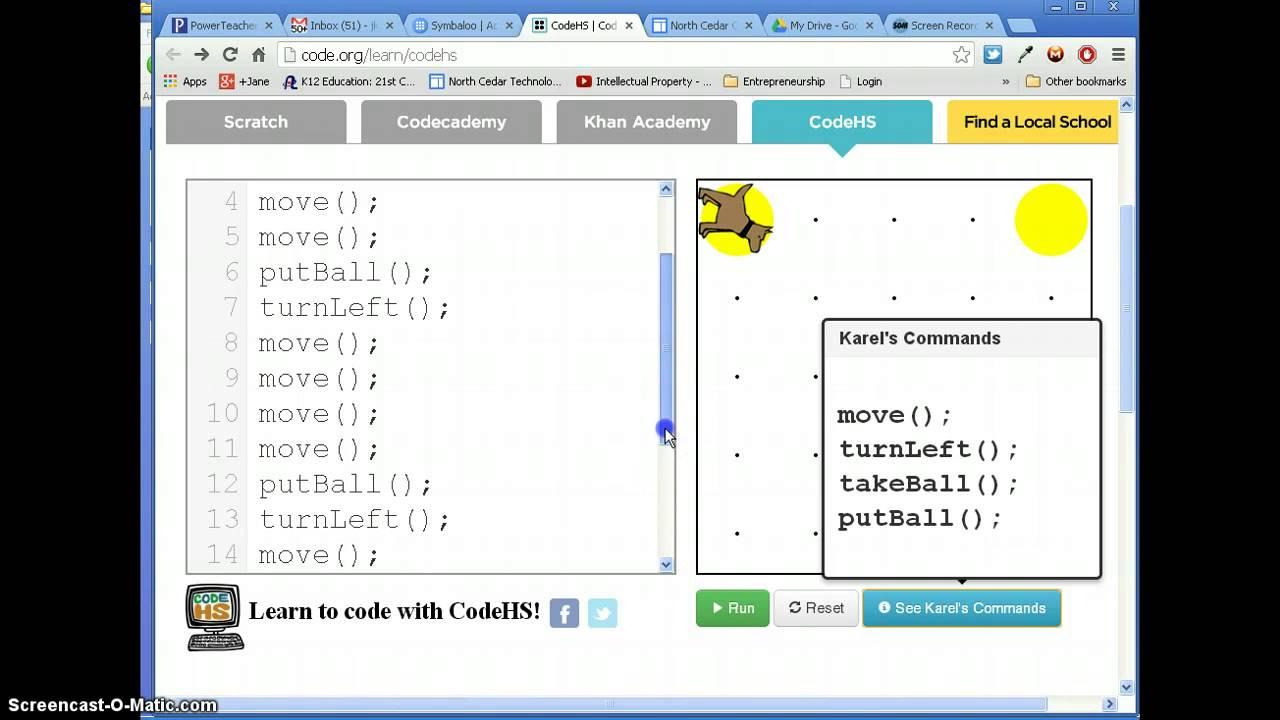 Hour of Code - CodeHS