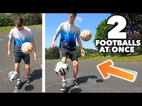 How I Learned to Juggle 2 Footballs at the same time