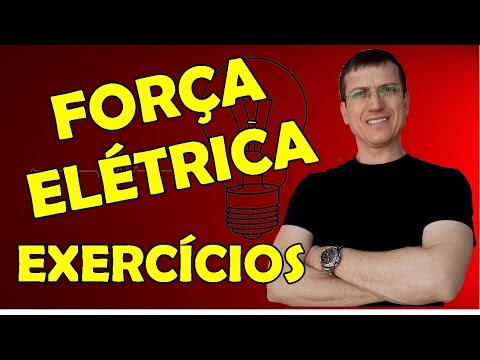 FORÇA ELÉTRICA (LEI DE COULOMB) - EXERCÍCIOS RESOLVIDOS -  AULA 4 - Prof.  Marcelo Boaro