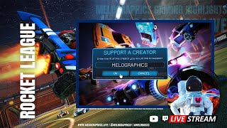 Rocket League Gameplay Highlights 0426 | #EpicPartner Support-a-Creator MELOGRAPHICS