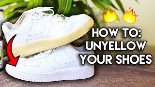 Most Frequently Asked Questions: How to Unyellow & Restore Yellowed Shoe Soles