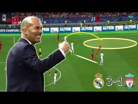 Real Madrid 3-1 Liverpool / Tactical Analysis / Champions League Final 2018 thumbnail