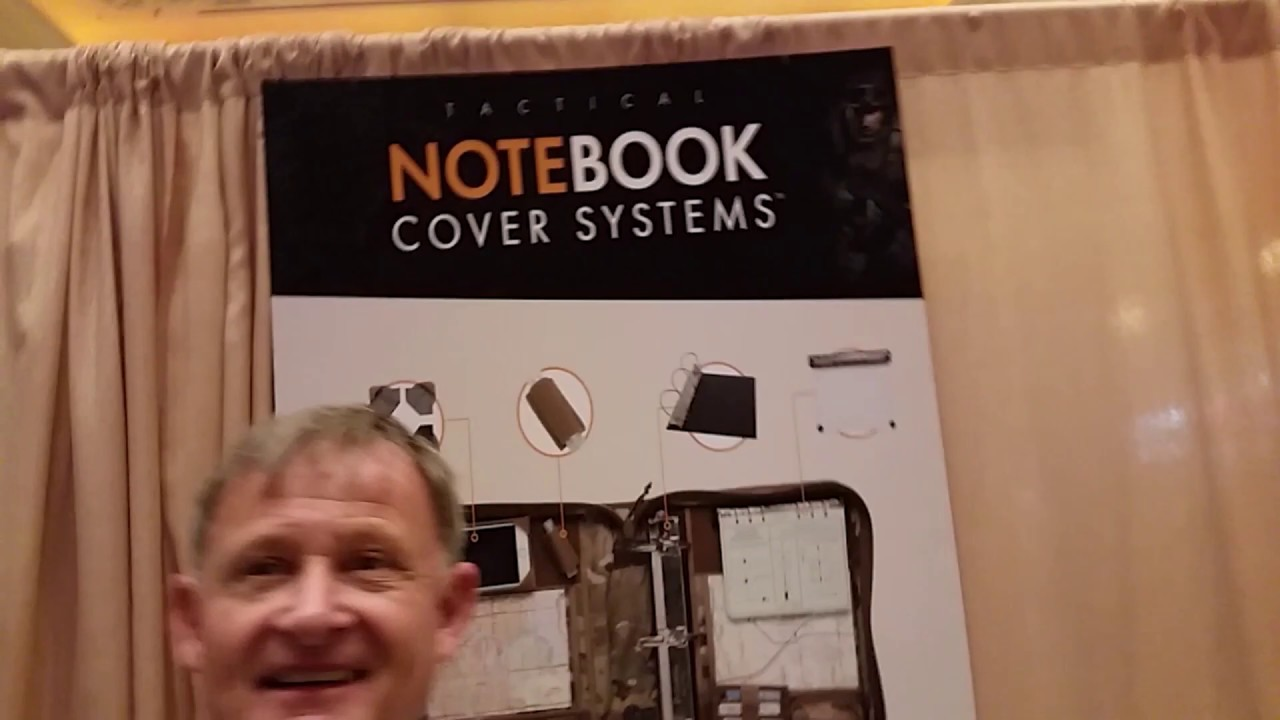 Notebook Cover Systems at SHOT Show 2020