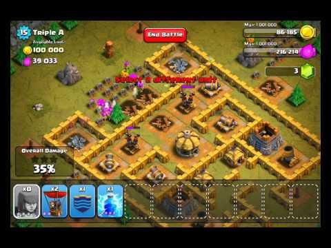 Clash of Clans Level 37 - Triple A