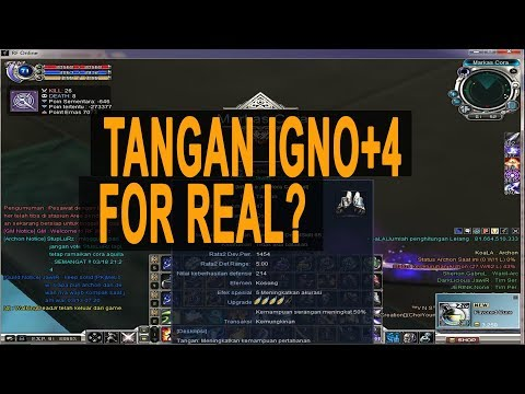 DAMAGE TANGAN+4 IGNO FOR REAL | RF ONLINE 2017