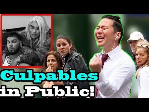 "KAROL G, ANUEL AA - ""Culpables"" - SINGING IN PUBLIC!!"