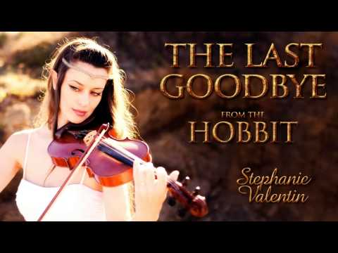 The Last Goodbye (The Hobbit) Billy Boyd | Stephanie Valentin violin cover (Audio)