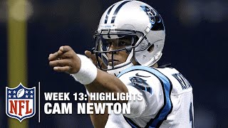 Cam Newton Stays Perfect with 5 TDs! | Panthers vs. Saints | NFL