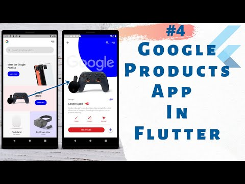 Google Product App Part 4   Flutter SDK