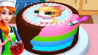 Play Fun Learn Cake Cooking & Colors - My Bakery Empire - Bake Decorate & Serve Cakes