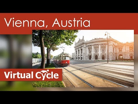 Guided Cycle and Treadmill Workout - Virtual Scenery of Vienna - Austria
