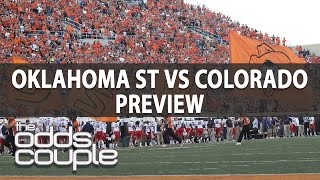 Alamo Bowl: Oklahoma St Cowboys vs Colorado Buffaloes Pick  | The Odds Couple & Ross Benjamin