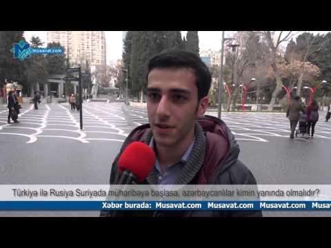 Rusiya-Türkiyə müharibəsi başlasa, azərbaycanlılar kimin yanında olmalıdır?
