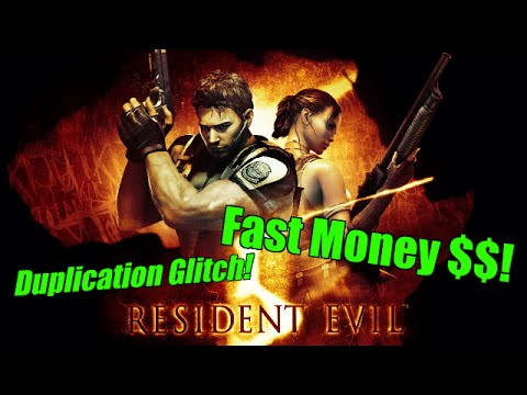 Infinite Items &amp; Money Glitch! Easiest Method! <b>Resident Evil 5</b> ...