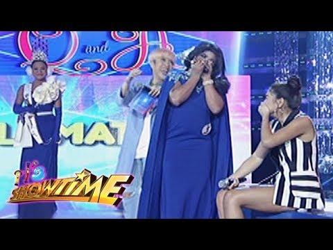 It's Showtime Miss Q & A: Nadine laughs out loud