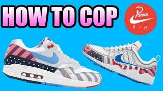 How To Get The PARRA X NIKE AIR MAX 1 + AIR ZOOM SPIRIDON ! NIKE X PARRA Release Info !