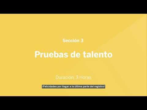 Guía para Convocatoria de Becas BBVA para Chavos que Inspiran 2021 - Pruebas de talento