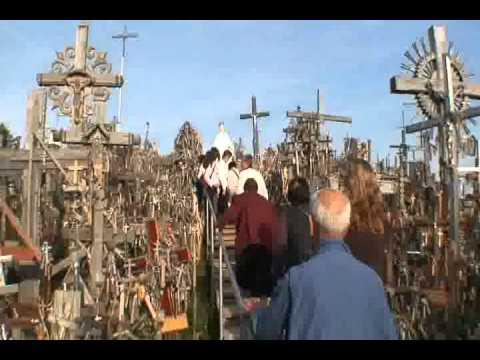 1014バルト3国・リトアニア入国と十字架の丘