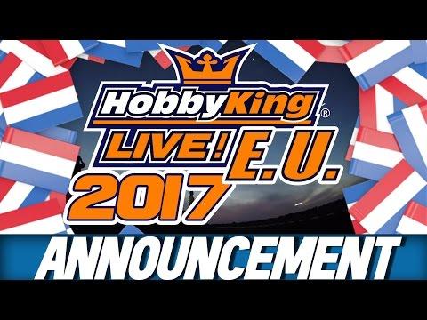 HK Live EU 2017 - Netherlands Announcement!
