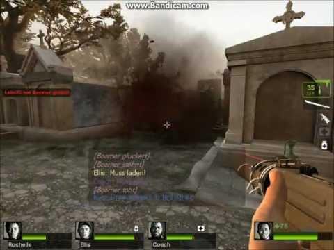 Gameplay: Left 4 Dead 2 - The Parish (German/Uncut/HD) #001