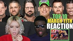 Top 10 Raw moments: WWE Top 10, March 11, 2019 REACTION
