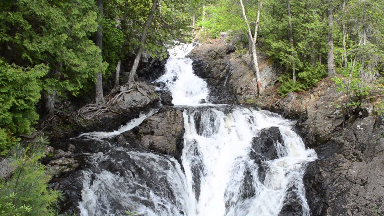 Crystal falls in hiawatha highlands park ontario youtube for Crystal falls