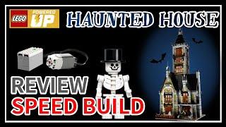 자이로드롭이 있는 레고 유령의집 | LEGO 10273…
