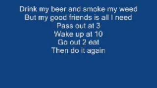 Asher Roth - I Love College - With Lyrics!