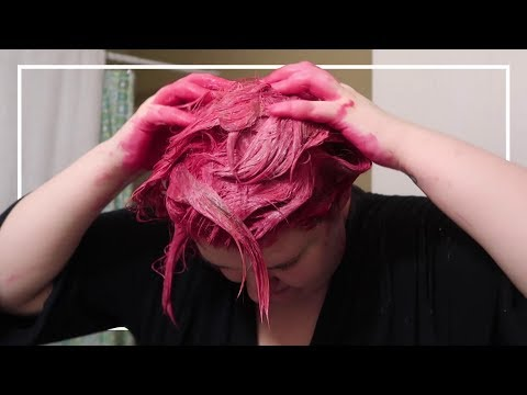I Tried Dyeing My Hair from Brown to Pink with Arctic Fox