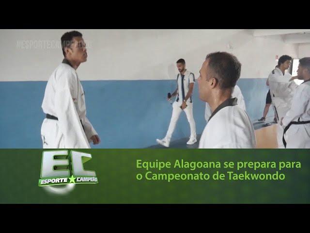 Equipe Alagoana se prepara para o Campeonato Brasileiro de Taekwondo