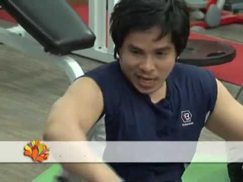 Kĩ năng tập giảm mỡ bụng ở nam giới - Vui Sống Mỗi Ngày [VTV3 - 11.10.2012]