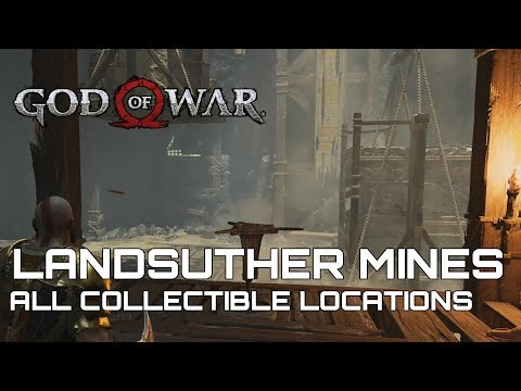 God Of War 100% Collectible Guide LANDSUTHER MINES