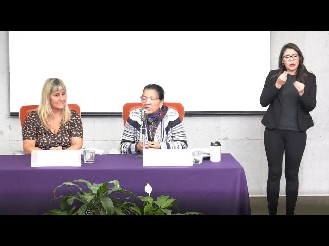 Discurso de la Presidenta de #CDHCM, Nashieli Ramírez, en la Firma con INDDHH del Pueblo de Uruguay