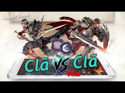 "Lineage 2 Revolution: War! Clã X Clã PvP 7x3 ""Marfim Tower"" - Omega Play"