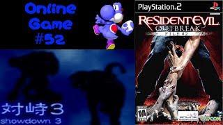 Resident Evil Outbreak File #2 - Online Game #52 (Showdown 3 on Very Hard)