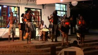 A Tribal Band plays a Song called Zambezi