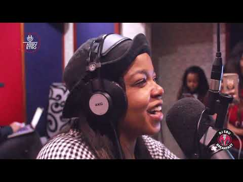 Shekhinah on Being tied down to the pressures of the music industry on the DJSbuBreakfast