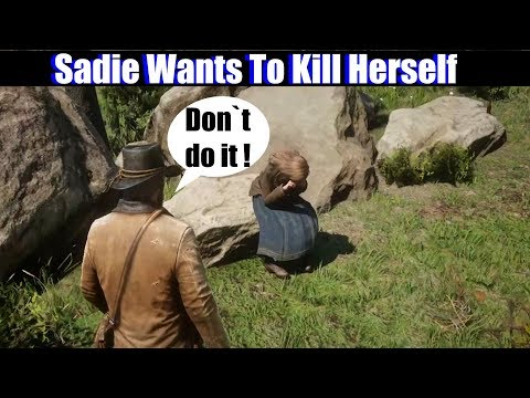 RDR2 Sadie Wants To Kill Herself - Red Dead Redemption 2 PS4 Pro thumbnail