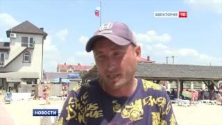 В этом году все пляжи Евпатории стали бесплатными(Однако, среди горожан и гостей города все больше жалоб на то, что с отдыхающих берут деньги., 2016-06-24T12:16:44.000Z)