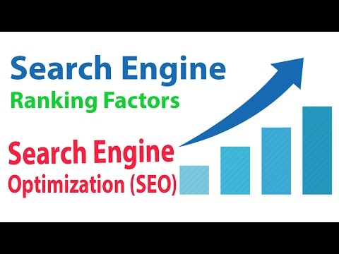 Search Engine Ranking Factors for Search Engine optimization SEO