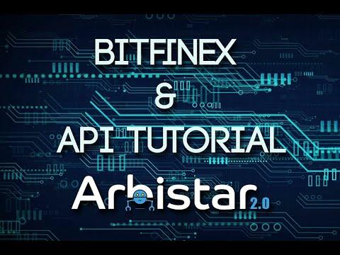 Bitfinex & API Key Tutorial