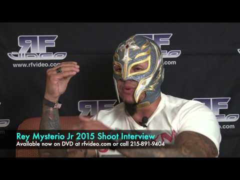 Rey Mysterio Jr 2015 Shoot Interview Preview