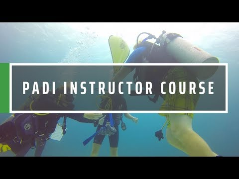 GVI PADI Instructor Development Course