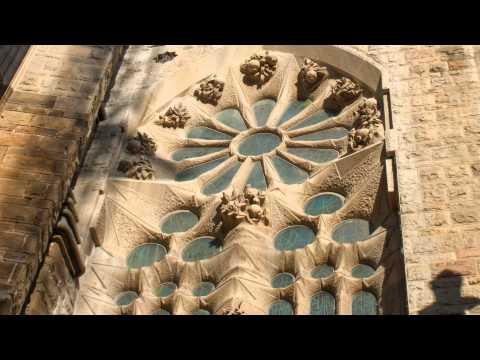 La Sagrada Familia by Antoni Gaudi in Barcelona.